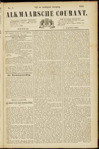 Alkmaarsche Courant 1883-01-07