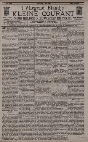 Vliegend blaadje : nieuws- en advertentiebode voor Den Helder 1896-07-01
