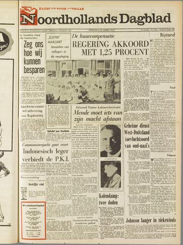 Noordhollands Dagblad : dagblad voor Alkmaar en omgeving 1965-10-19