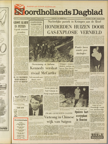 Noordhollands Dagblad : dagblad voor Alkmaar en omgeving 1968-05-08