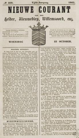 Nieuwe Courant van Den Helder 1865-10-25
