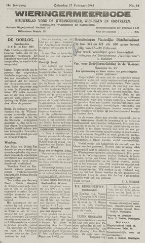 Wieringermeerbode 1945-02-17
