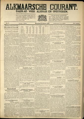 Alkmaarsche Courant 1933-01-16