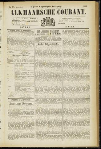 Alkmaarsche Courant 1893-07-02