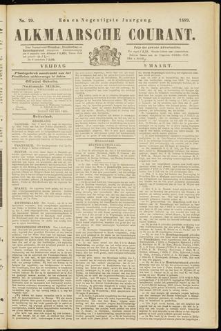 Alkmaarsche Courant 1889-03-08