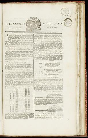 Alkmaarsche Courant 1829-04-20