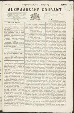 Alkmaarsche Courant 1867-11-17
