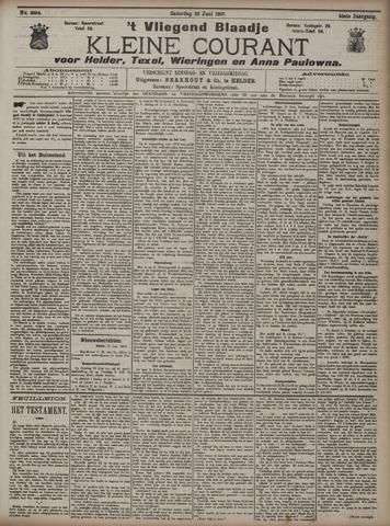 Vliegend blaadje : nieuws- en advertentiebode voor Den Helder 1907-06-22