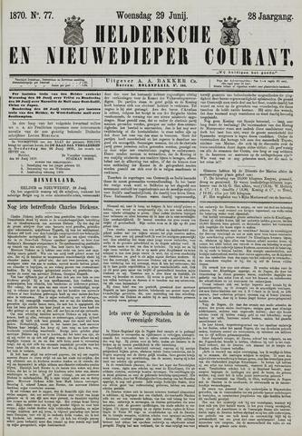 Heldersche en Nieuwedieper Courant 1870-06-29