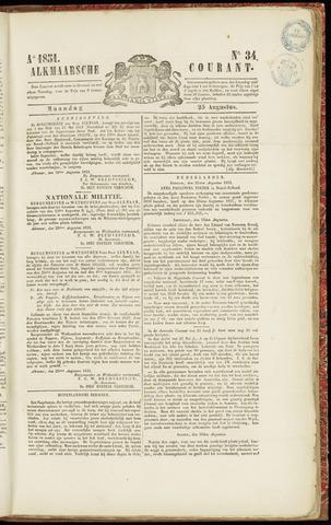 Alkmaarsche Courant 1851-08-25