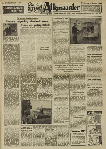 De Vrije Alkmaarder 1949-10-06