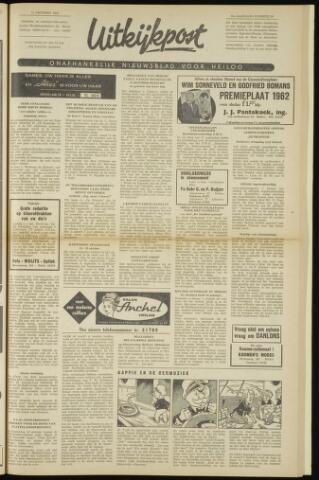 Uitkijkpost : nieuwsblad voor Heiloo e.o. 1962-10-11