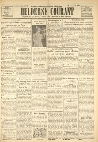 Heldersche Courant 1950-01-19