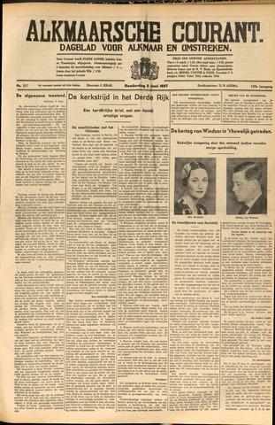 Alkmaarsche Courant 1937-06-03