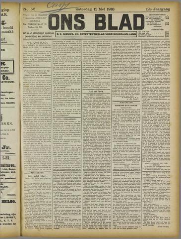 Ons Blad : katholiek nieuwsblad voor N-H 1918-05-11