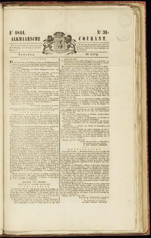Alkmaarsche Courant 1844-07-29