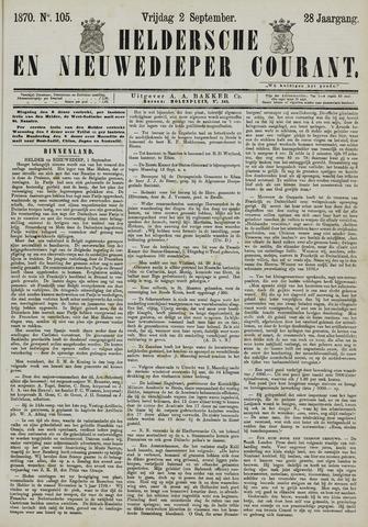 Heldersche en Nieuwedieper Courant 1870-09-02