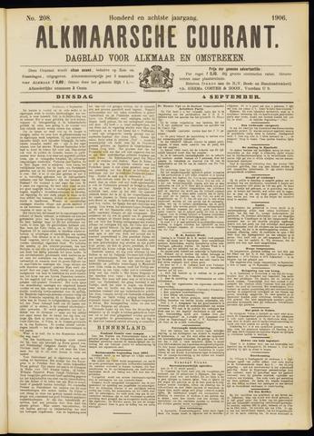 Alkmaarsche Courant 1906-09-04