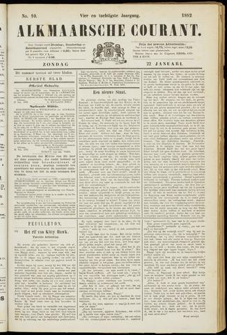 Alkmaarsche Courant 1882-01-22