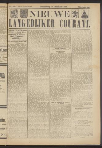 Nieuwe Langedijker Courant 1922-12-21