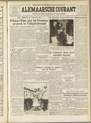 Alkmaarsche Courant 1955-02-04