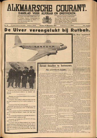 Alkmaarsche Courant 1934-12-21