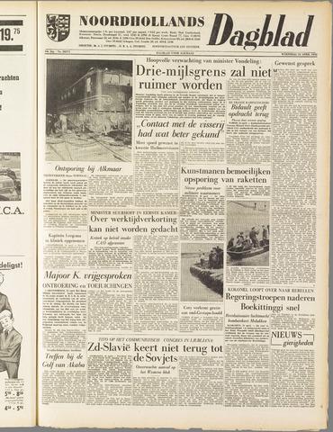 Noordhollands Dagblad : dagblad voor Alkmaar en omgeving 1958-04-23