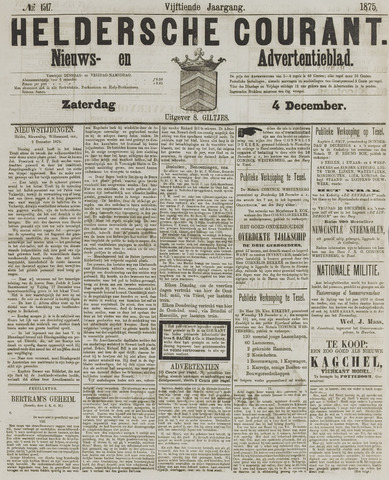 Heldersche Courant 1875-12-04