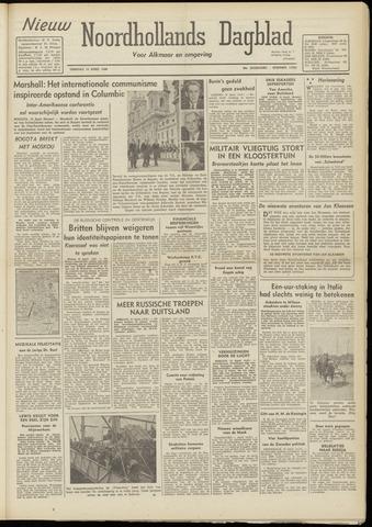 Nieuw Noordhollandsch Dagblad : voor Alkmaar en omgeving 1948-04-13