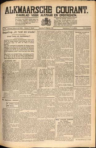 Alkmaarsche Courant 1939-08-20