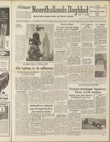 Nieuw Noordhollandsch Dagblad : voor Alkmaar en omgeving 1950-11-16