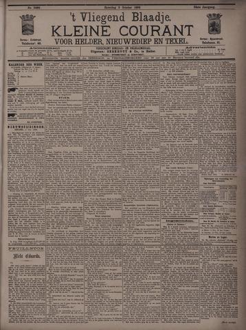 Vliegend blaadje : nieuws- en advertentiebode voor Den Helder 1896-10-03