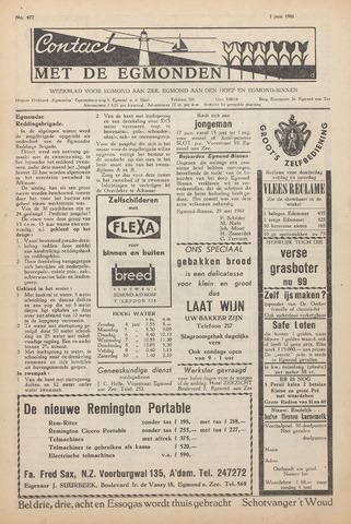 Contact met de Egmonden 1961-06-01