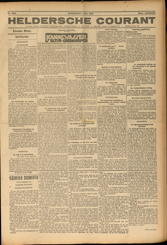 Heldersche Courant 1926-07-01