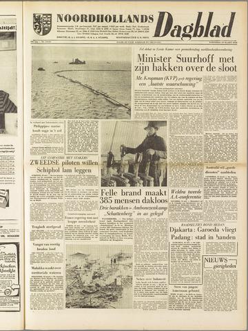 Noordhollands Dagblad : dagblad voor Alkmaar en omgeving 1958-03-19