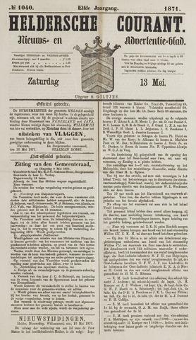 Heldersche Courant 1871-05-13
