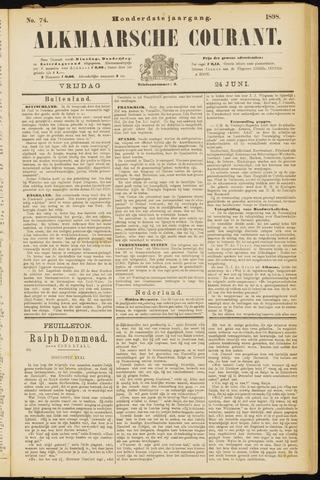 Alkmaarsche Courant 1898-06-24