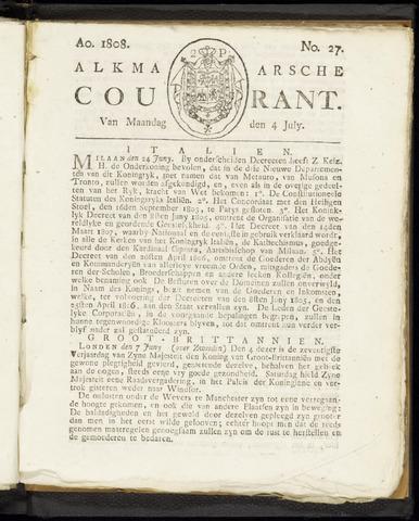 Alkmaarsche Courant 1808-07-04