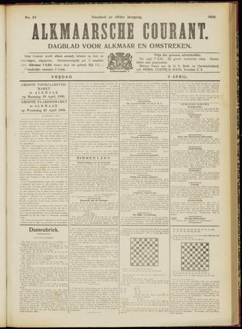 Alkmaarsche Courant 1909-04-09