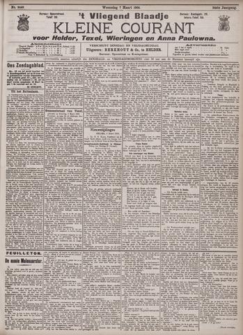 Vliegend blaadje : nieuws- en advertentiebode voor Den Helder 1906-03-07