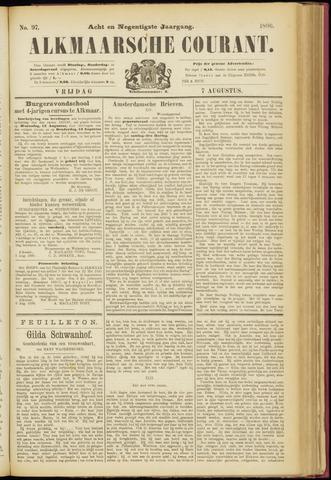 Alkmaarsche Courant 1896-08-07