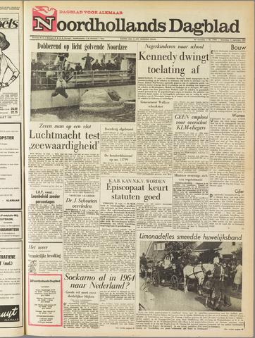 Noordhollands Dagblad : dagblad voor Alkmaar en omgeving 1963-09-11