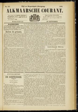 Alkmaarsche Courant 1893-09-20