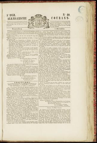 Alkmaarsche Courant 1851-12-01