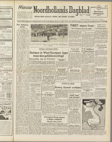Nieuw Noordhollandsch Dagblad : voor Alkmaar en omgeving 1950-10-30