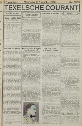 Texelsche Courant 1938-11-02