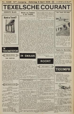 Texelsche Courant 1938-04-09
