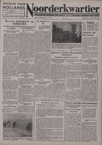 Dagblad voor Hollands Noorderkwartier 1942-01-20