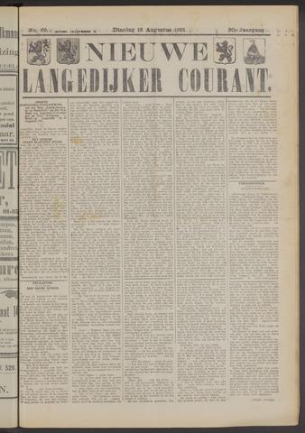 Nieuwe Langedijker Courant 1921-08-16