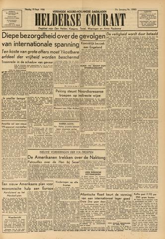 Heldersche Courant 1950-09-19